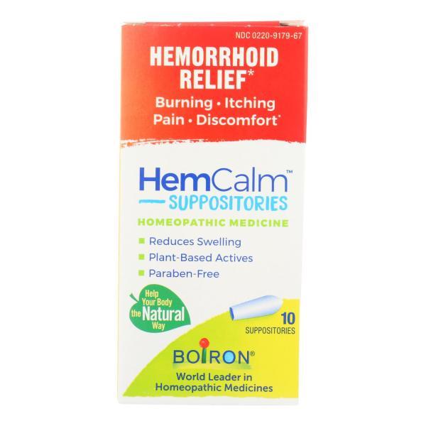 Hemcalm - Helcalm Suppositories - 1 Each 1-10 CT %count(alt)