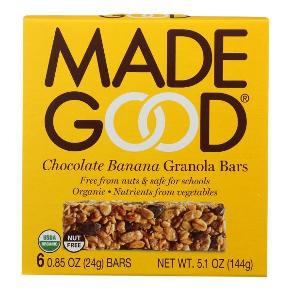 Made Good Granola Bar - Chocolate Banana - Case of 6 - 5 oz. %count(alt)