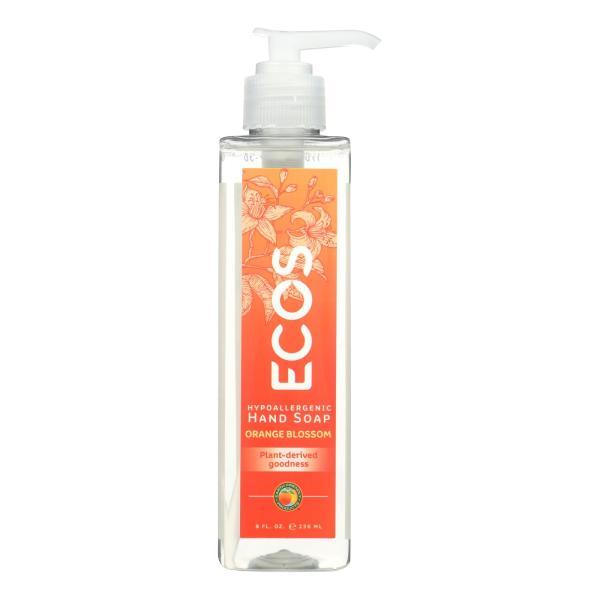 ECOS Hand Soap - Orange Blossom - Case of 6 - 8 fl oz. %count(alt)