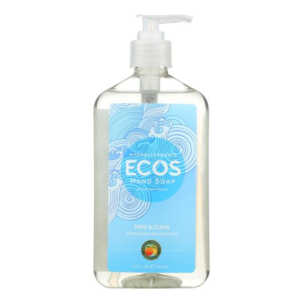 ECOS Hand Soap - Free And Clear - Case of 6 - 17 fl oz. %count(alt)
