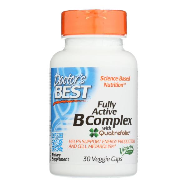 Doctor's Best - B Complex Fully Active - 1 Each-30 VCAP %count(alt)
