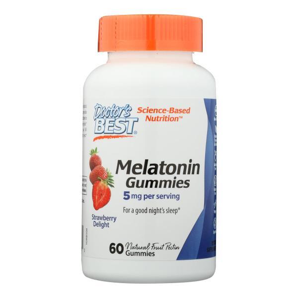 Doctor's Best - Melatonin 5mg Gummies - 1 Each-60 CT %count(alt)
