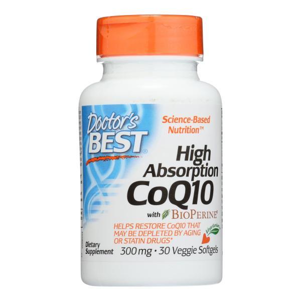 Doctor's Best - Coq10 300mg - 1 Each-30 SGEL %count(alt)