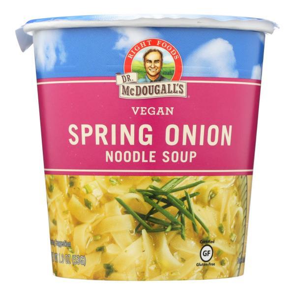 Dr. McDougall's Vegan Spring Onion Noodle Soup Big Cup - Case of 6 - 1.9 oz. %count(alt)