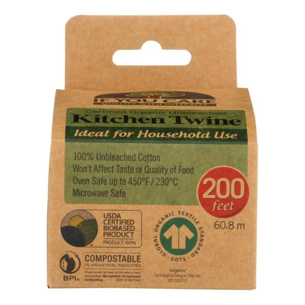 If You Care Cooking Twine - Natural - Case of 24 %count(alt)