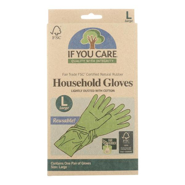 If You Care Household Gloves - Large - 12 Pairs %count(alt)