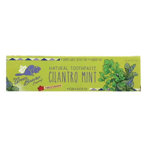 Green BeaverThe Toothpaste - Cilantro Mint Toothpaste - Case of 1 - 2.5 fl oz. %count(alt)