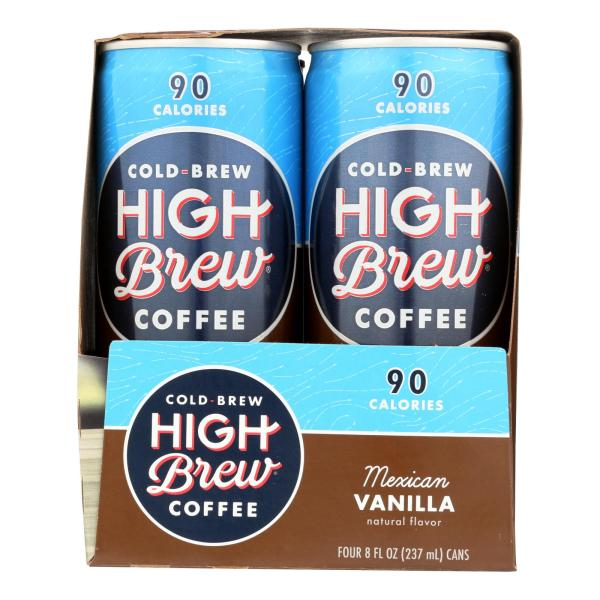 High Brew Coffee Coffee - Ready to Drink - Mexican Vanilla - 4/8 oz - case of 6 %count(alt)