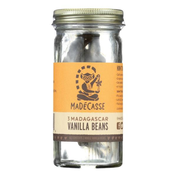 Madecasse Bourbon Vanilla Beans - Case of 12 - 3 Count %count(alt)