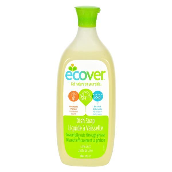 Ecover Liquid Dish Soap - Lime Zest - 25 oz - Case of 6 %count(alt)