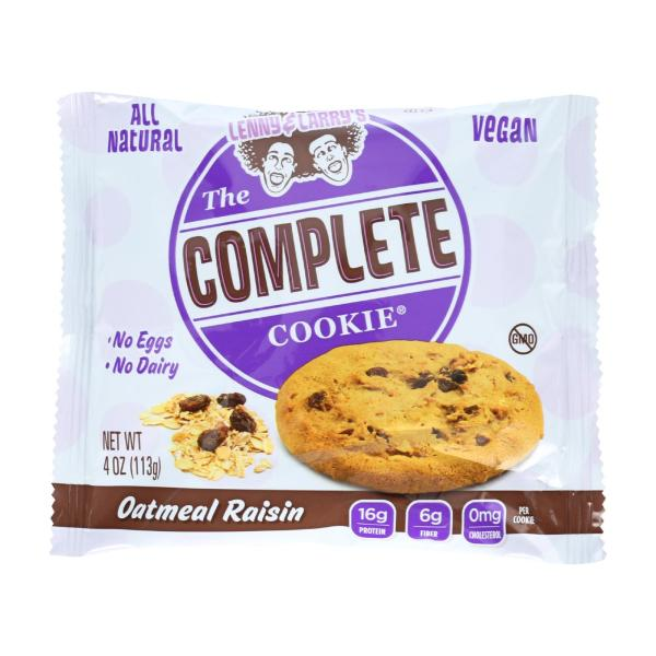Lenny and Larry's The Complete Cookie - Oatmeal Raisin - 4 oz - Case of 12 %count(alt)