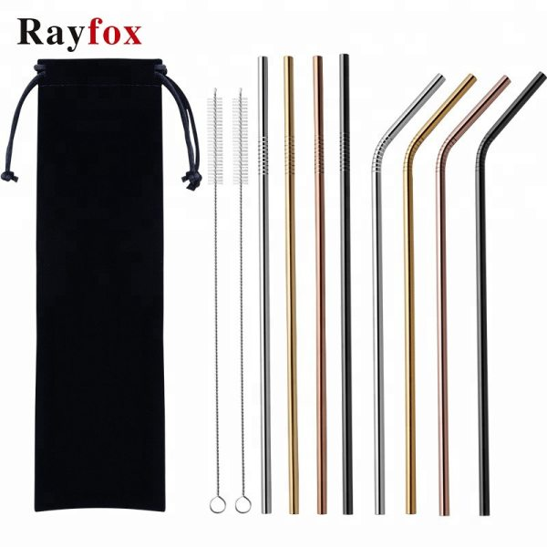 Reusable Stainless Steel Drinking Straws %count(alt)