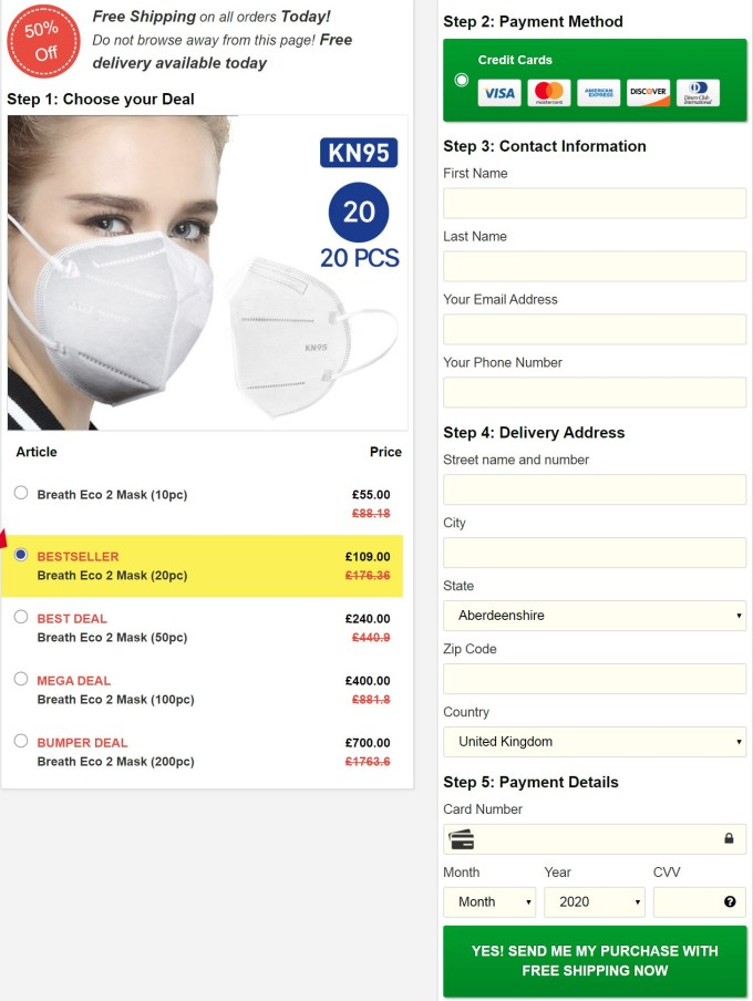 breath Eco2 Mask Price
