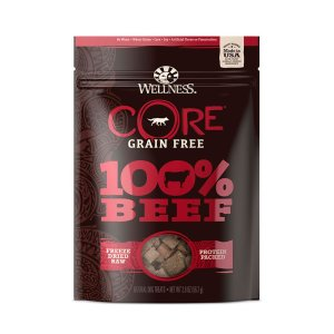 Core beef freeze dried treat front view