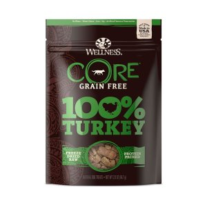 core turkey freeze dried front view