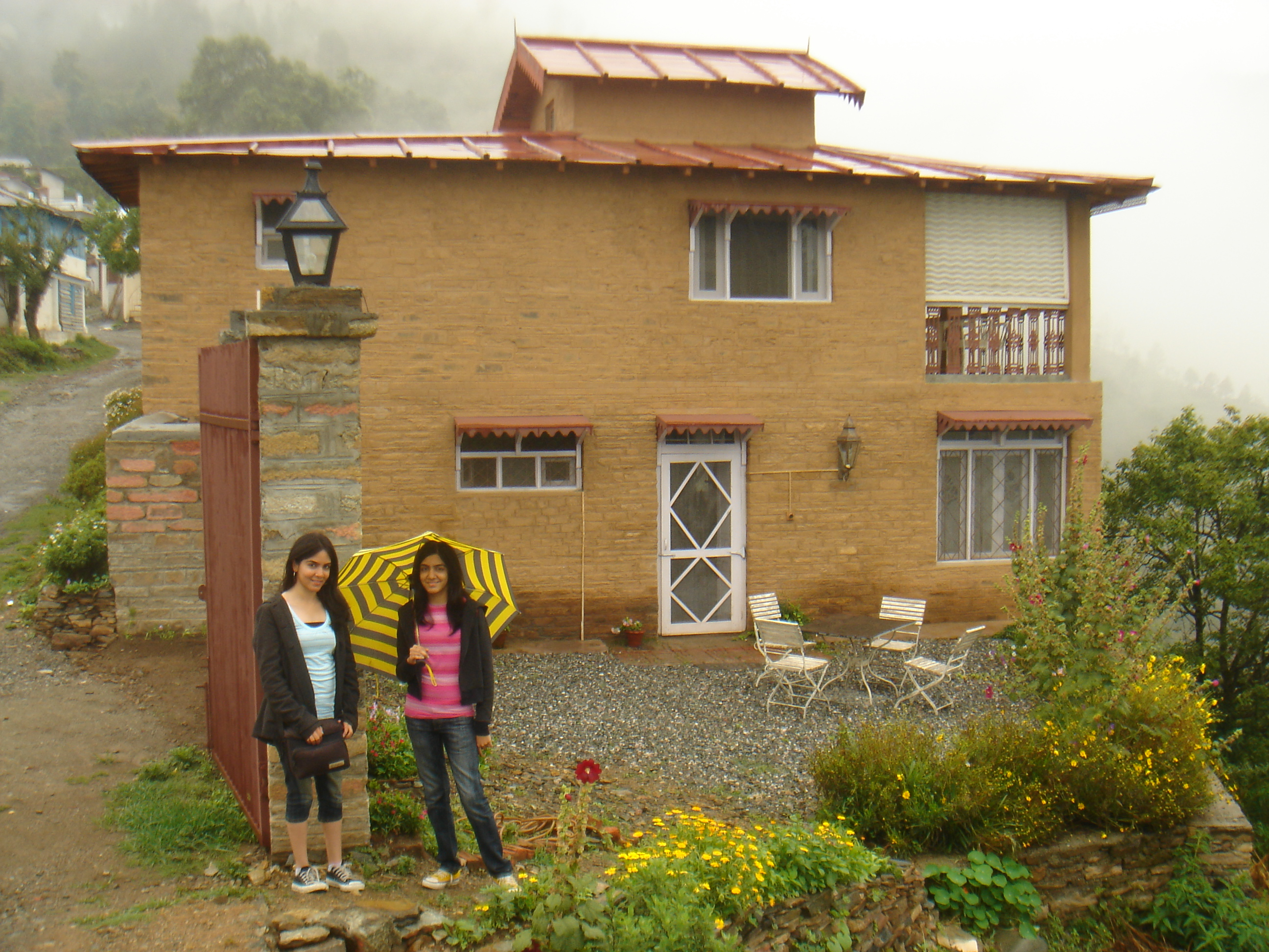 Cliff House - our cottage at Ramgarh Bungalows