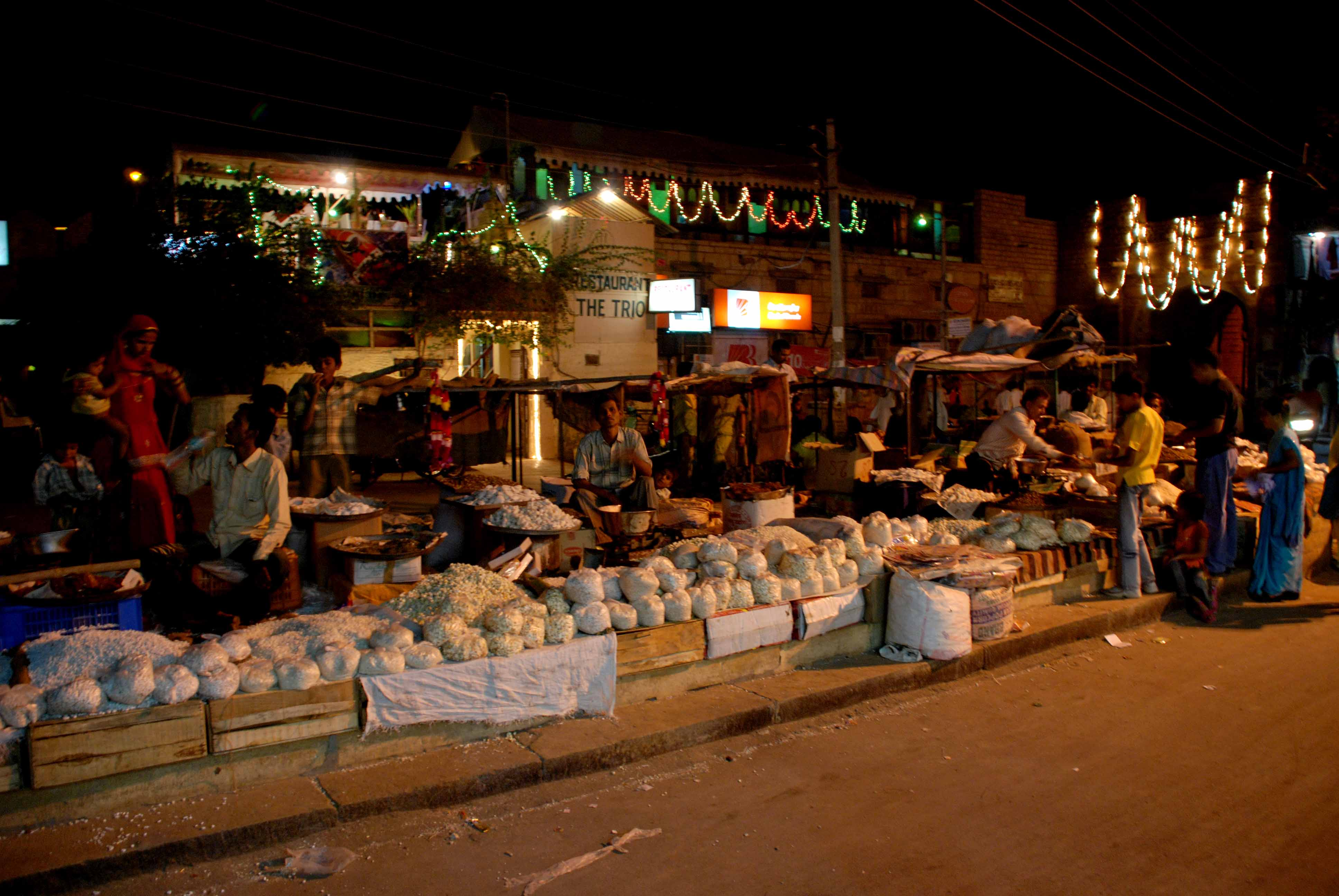 The streets of Jaisalmer