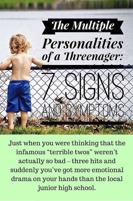 The multiple personalities of threenagers are no laughing matters. If you're dealing with toddler mood swings - here's what you need to know!