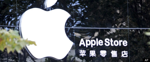 Image result for apple in China, photos