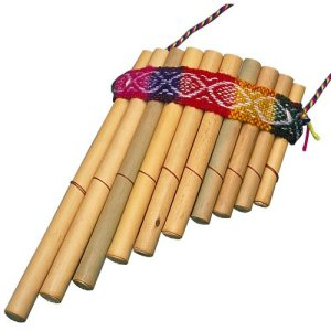 Colorful Handmade Panflute