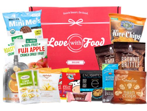 Deluxe Gluten Free Box from SnackNation
