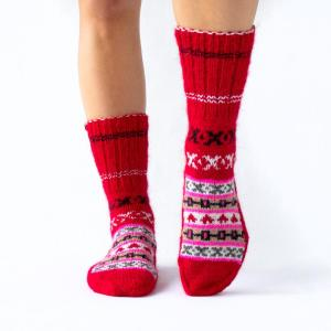 Fazl Socks - Red