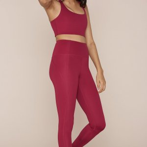 Girlfriend Collective Leggings -Red