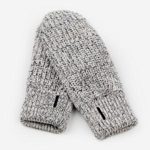 Love Your Melon Mittens - Black/Grey