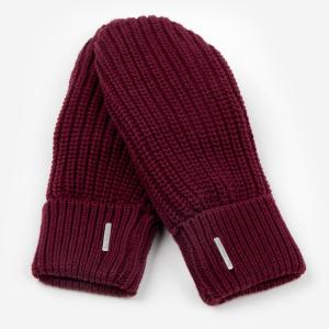 Love Your Melon Mittens - Burgundy
