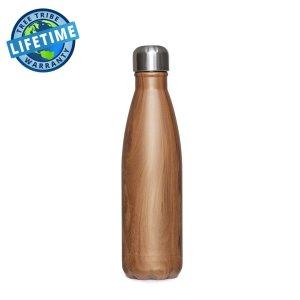 Woodgrain Water Bottle