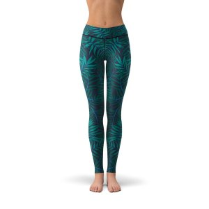 Tree Tribe Jungle Palms Leggings