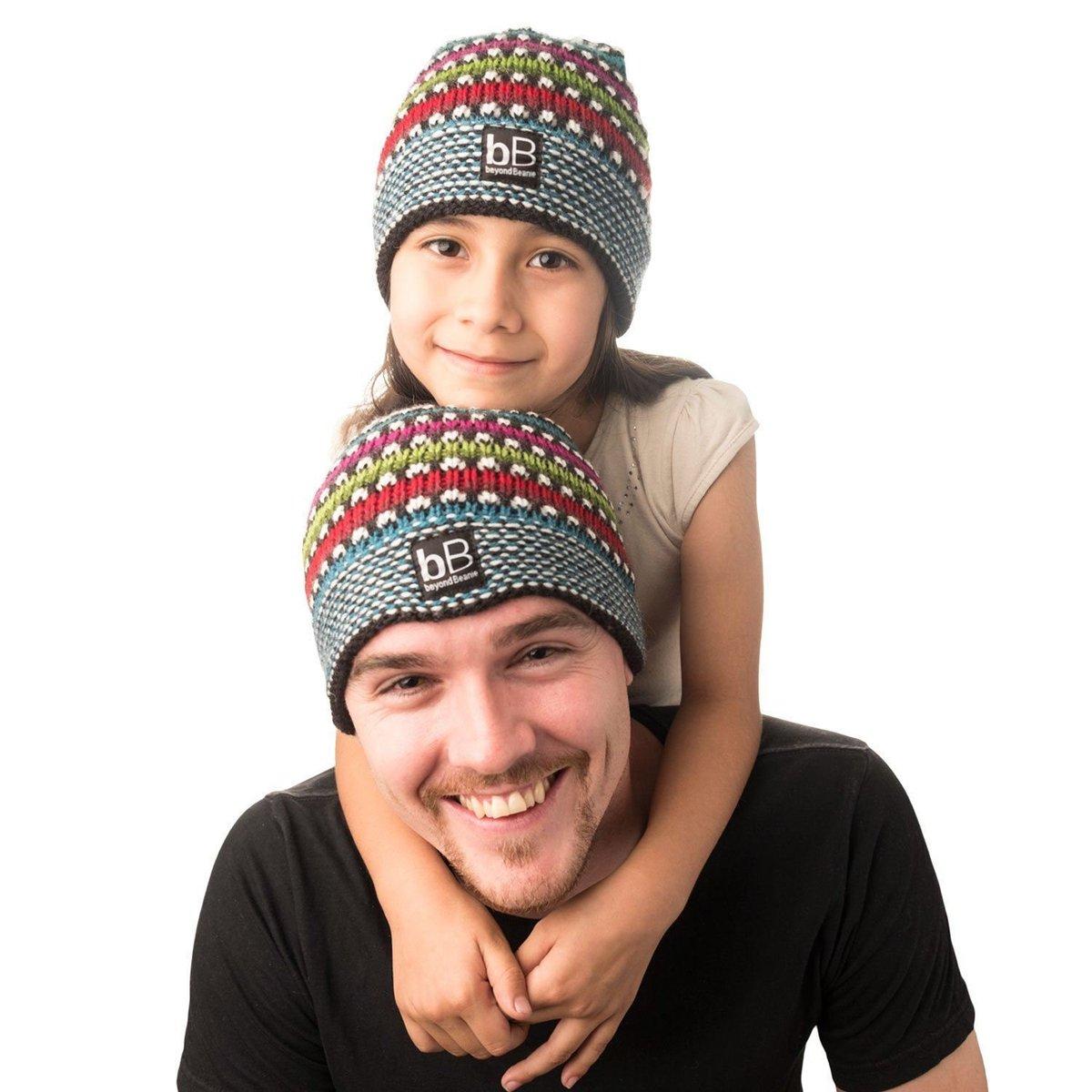 Beyond Beanie Black Rainbow Dad Daughter