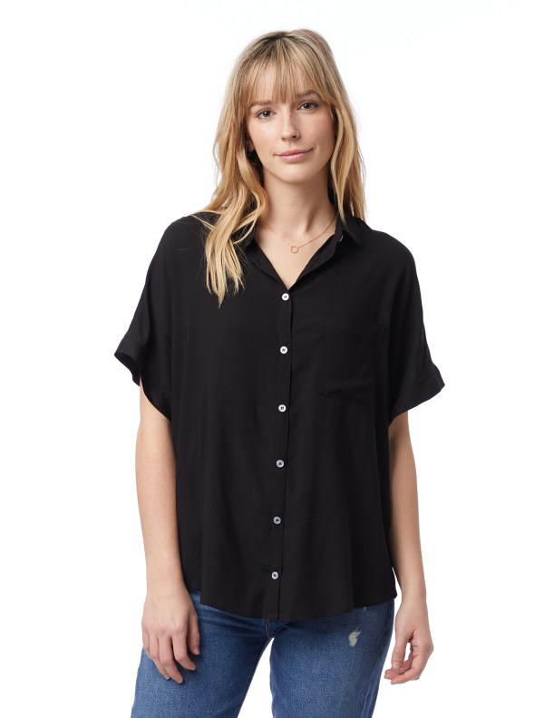 alternative apparel rayon shirt