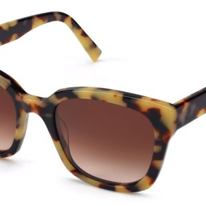 Warby Parker Sunglasses - Aubrey in Marzipan Tortoise