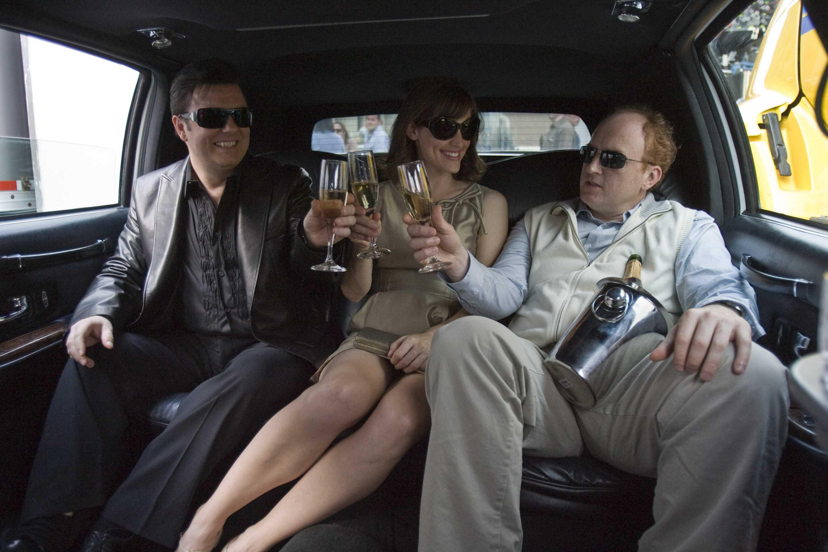 Mark, Anna e Greg in Limousine