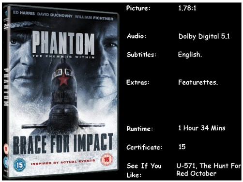 Phantom 2013 DVD Disc Info