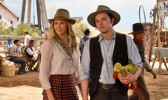 A Million Ways To Die In The West 01 Charlize Theron Seth McFarlane