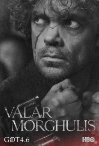 Game of Thrones season 4 Tyrion poster