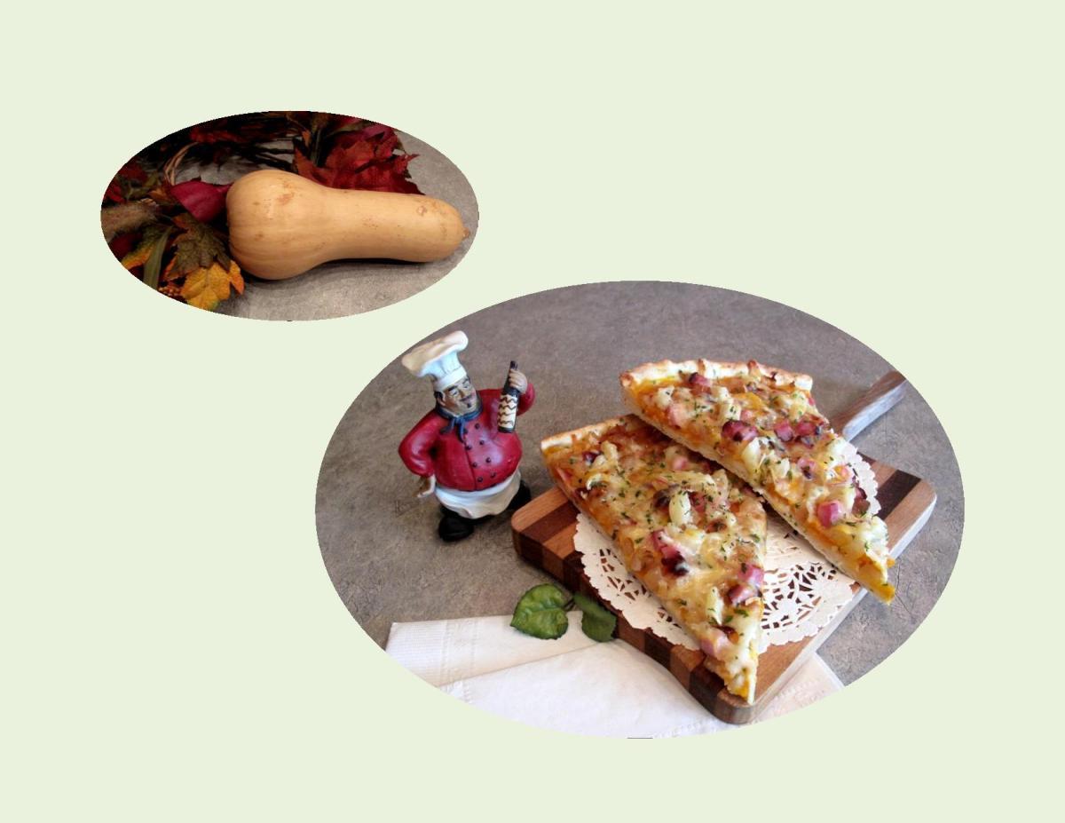 Ham & Butternut Squash Pizza