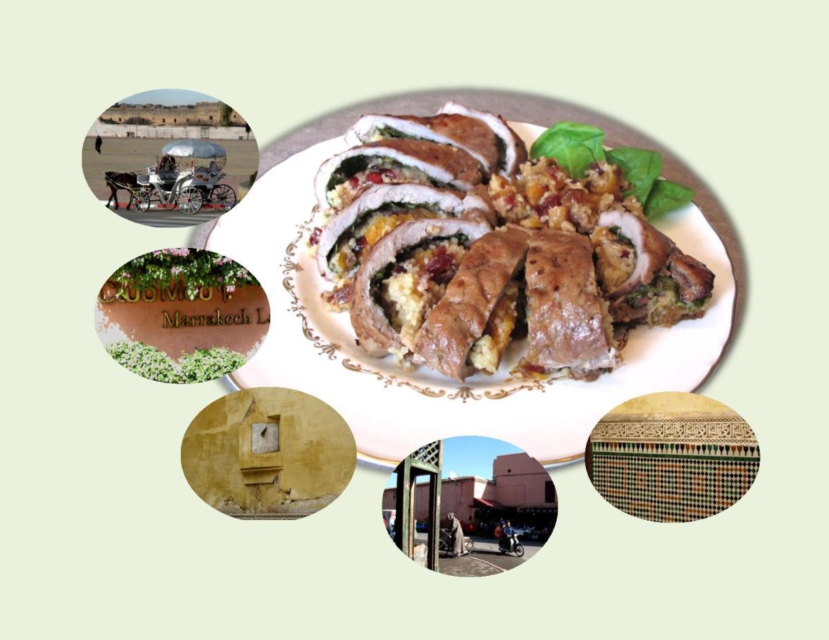 Fruited Pork Tenderloin with Moroccan Spices