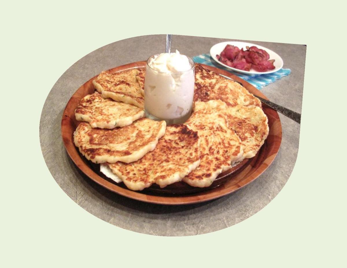 'Kartoffelpuffer' – German Potato Pancakes
