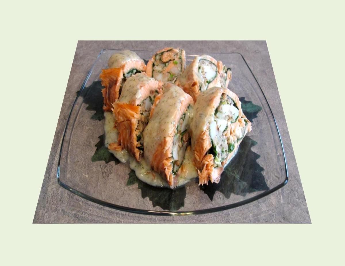 Seafood Salmon Roulade