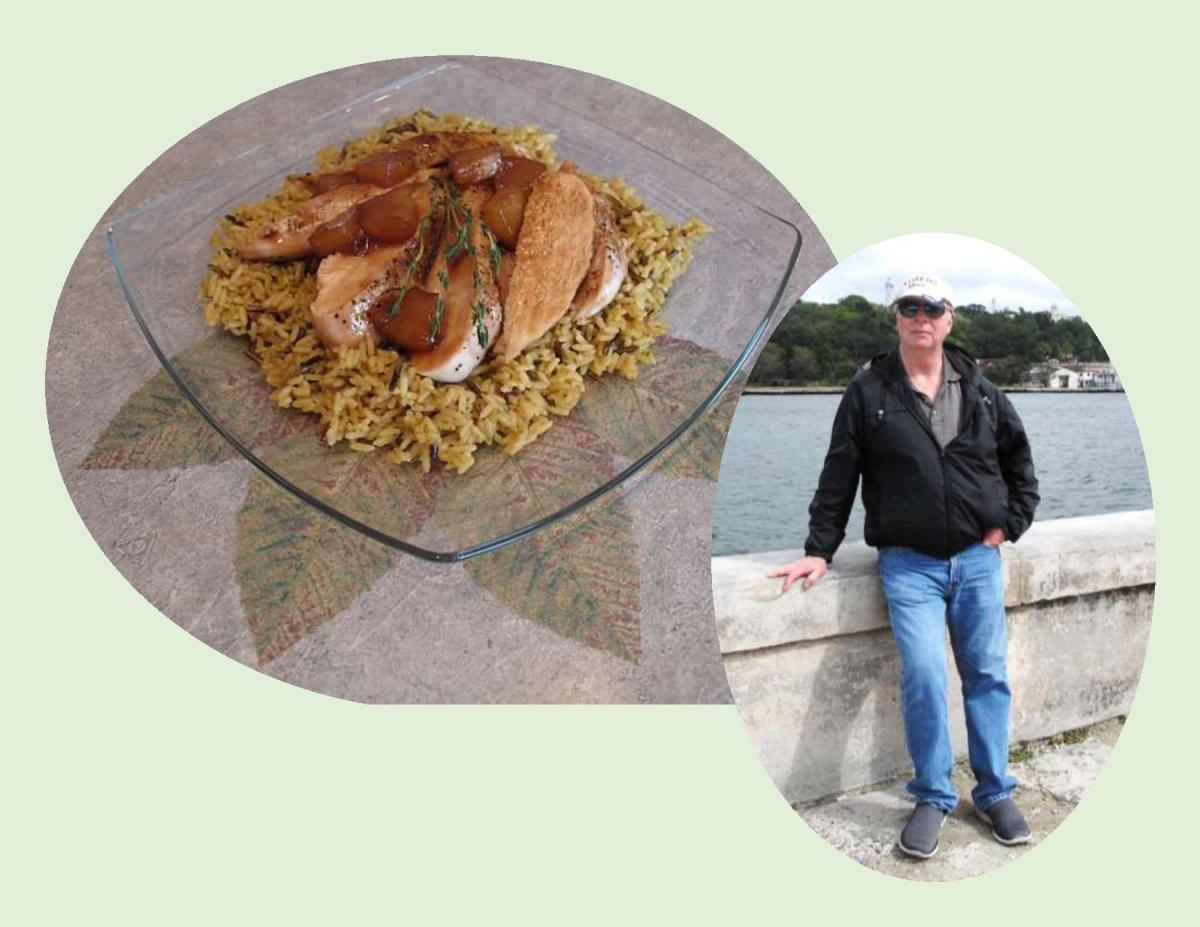 Pineapple Chicken over Wild Rice