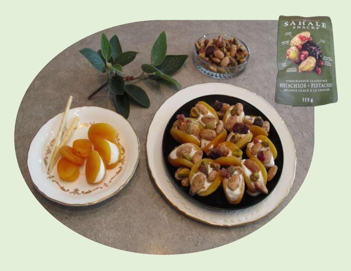 Turkish-Style Stuffed Apricots