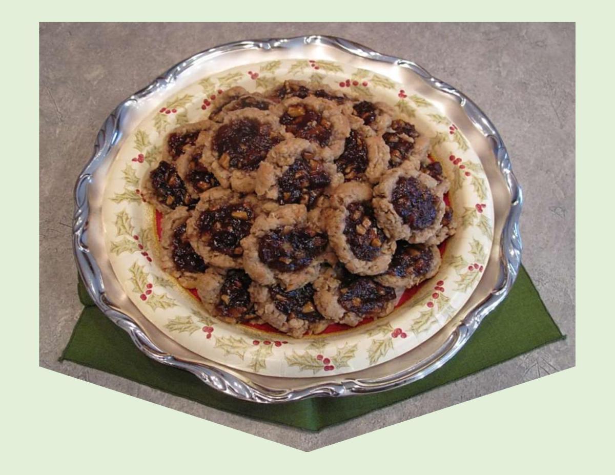 Oatmeal Mincemeat Cookies