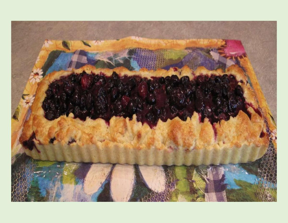 Blackberry & Blueberry Rustic Tart
