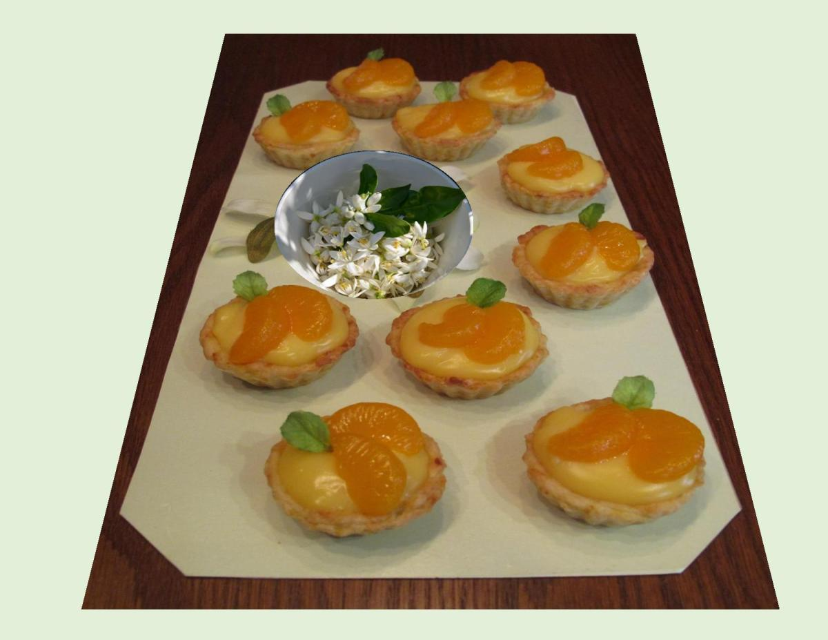 Mandarin Orange Tarts