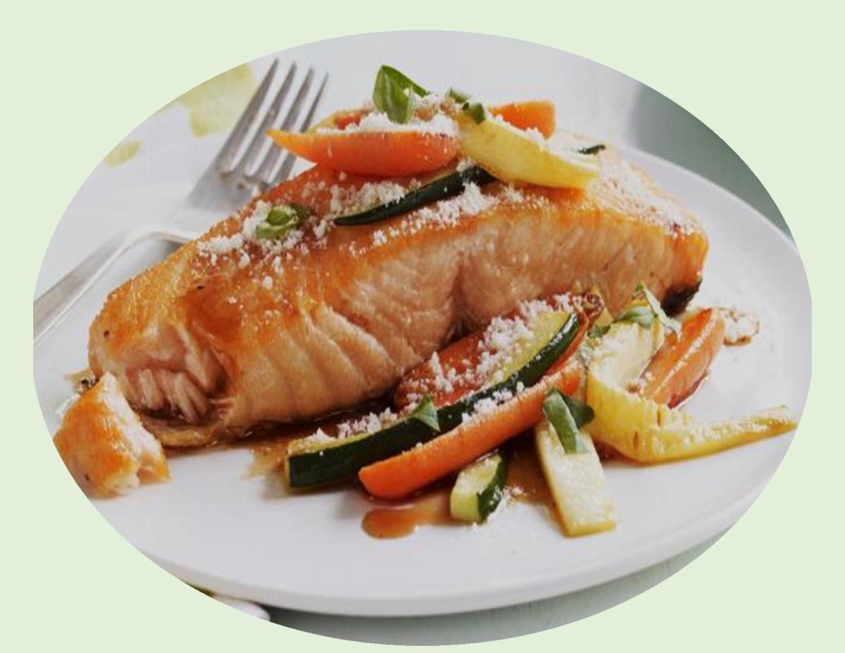 Honey Balsamic Glazed Salmon