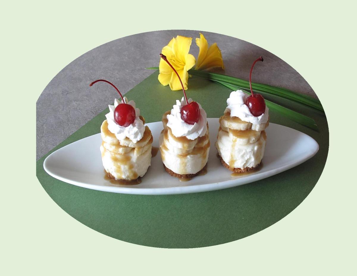 Banana Cheesecake Bites