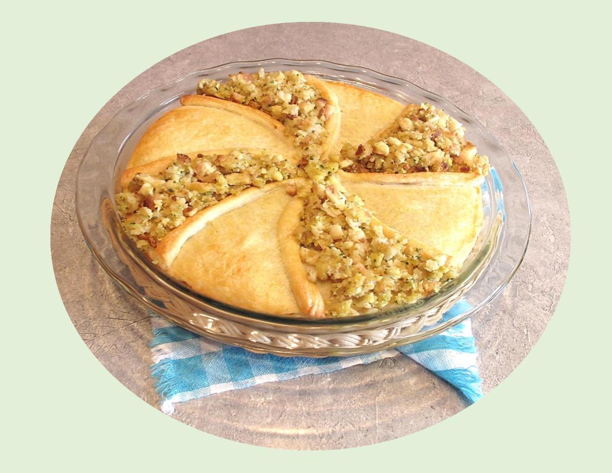 Roast Chicken & Stuffing Pie